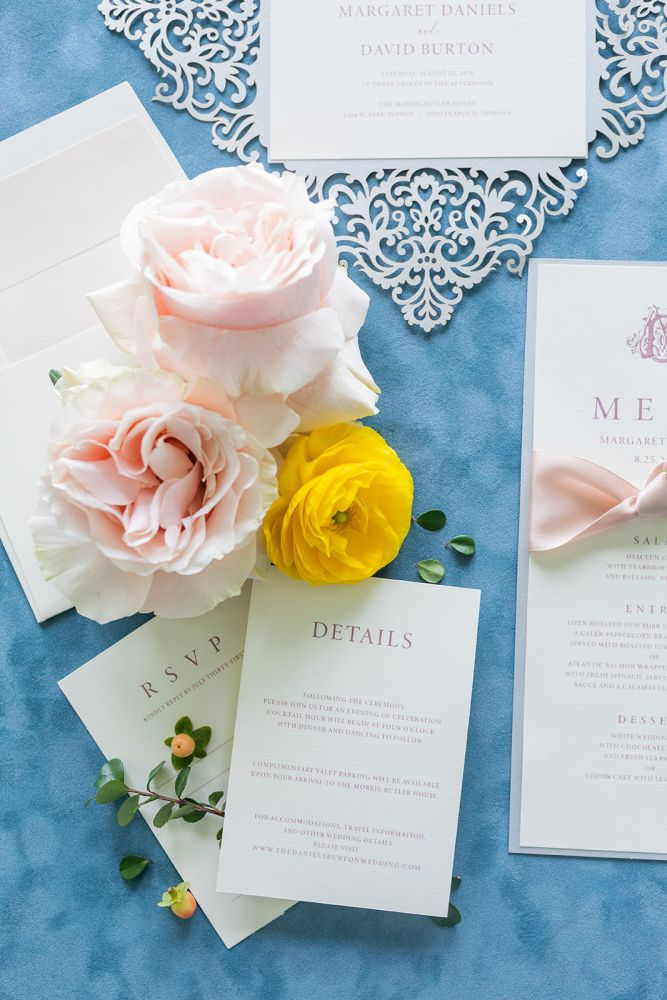 Details Card for Wedding Invitations Print Shop Indianapolis Carmel Zionsville Brownsburg