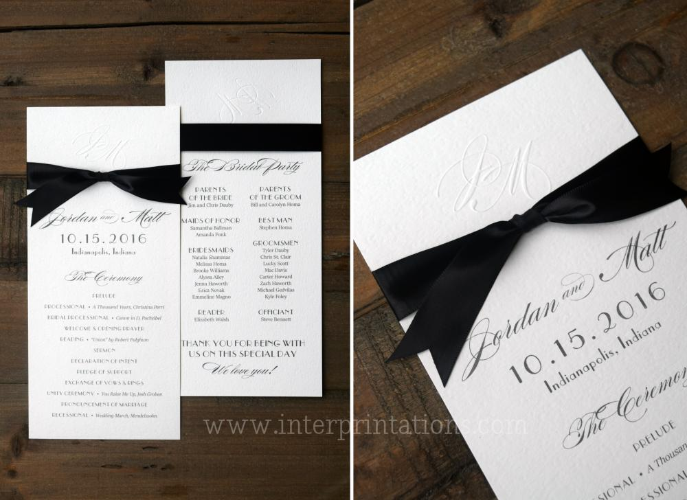 Indianapolis Wedding Invitations, Indianapolis Museum of Art